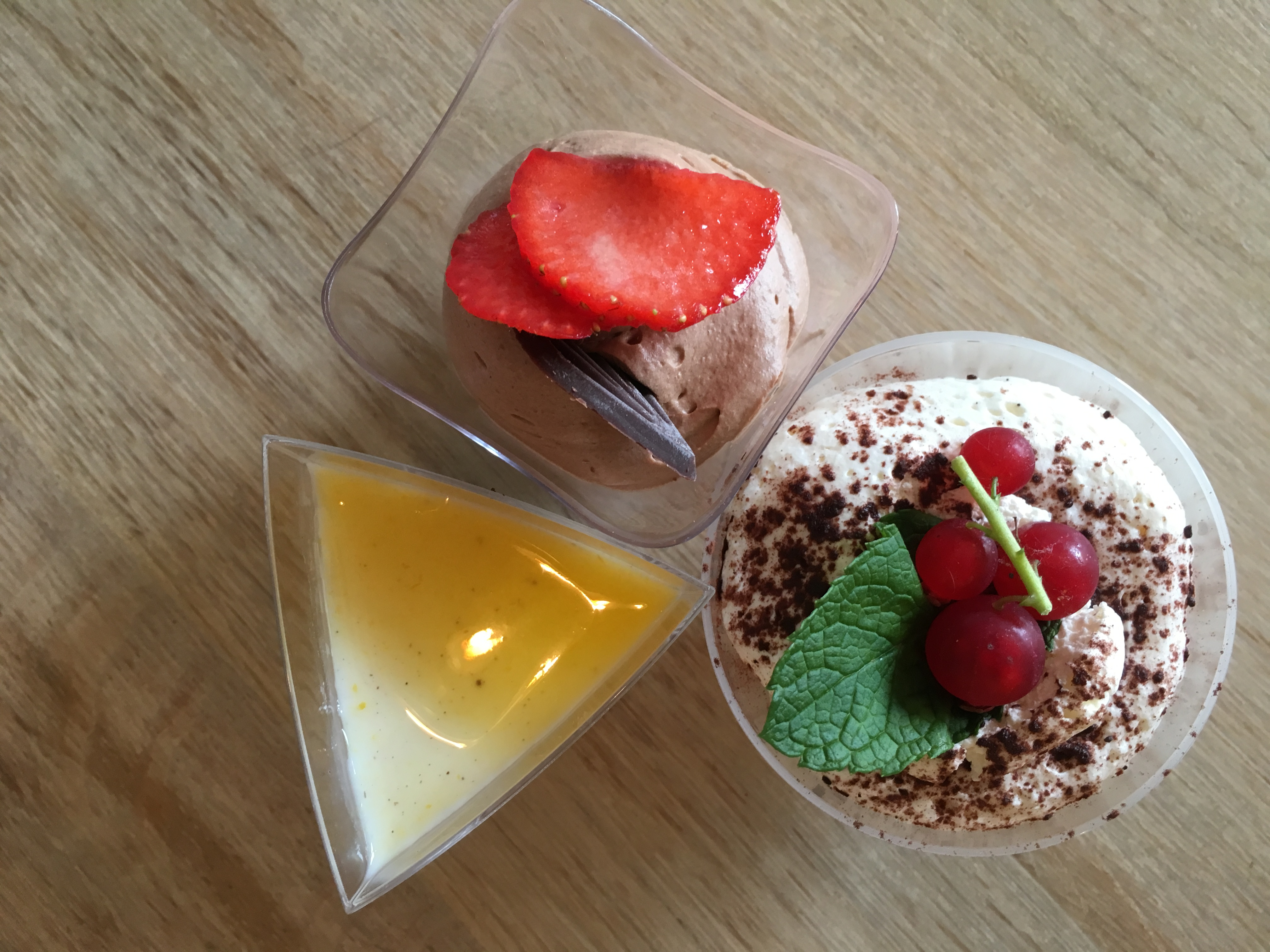 mini dessertjes